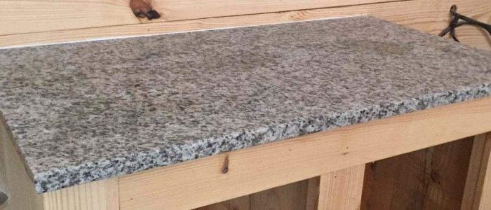 Beautiful Luna Pearl Granite Countertops for Kitchen or Bathroom!