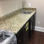 Project Profile New Venetian Gold Granite Kitchen Countertops In Atlanta Ga Granite Countertop Warehouse