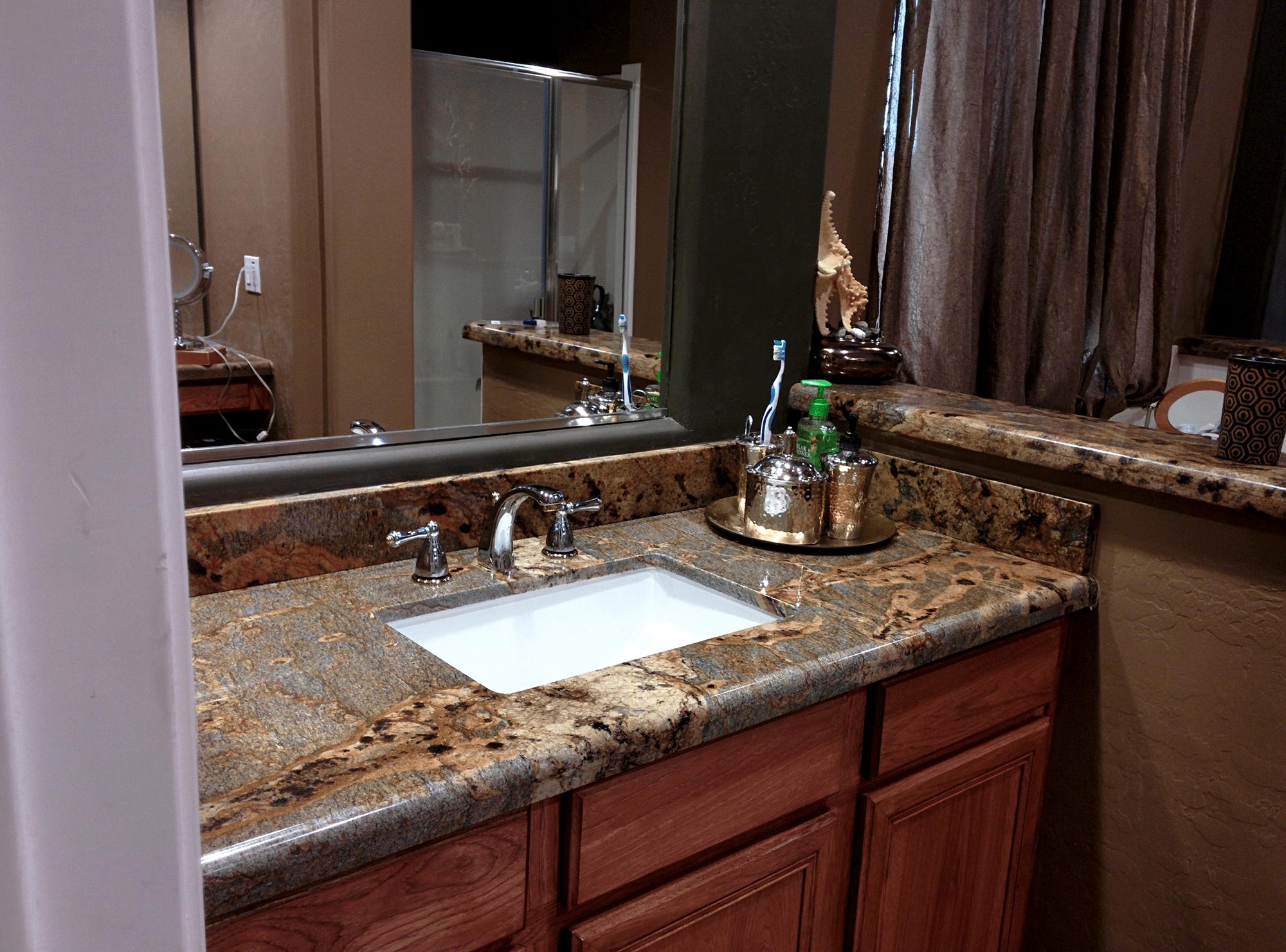 Granite Bathroom Phoenix  Kitchen  Premier Countertop Installers  Arizona