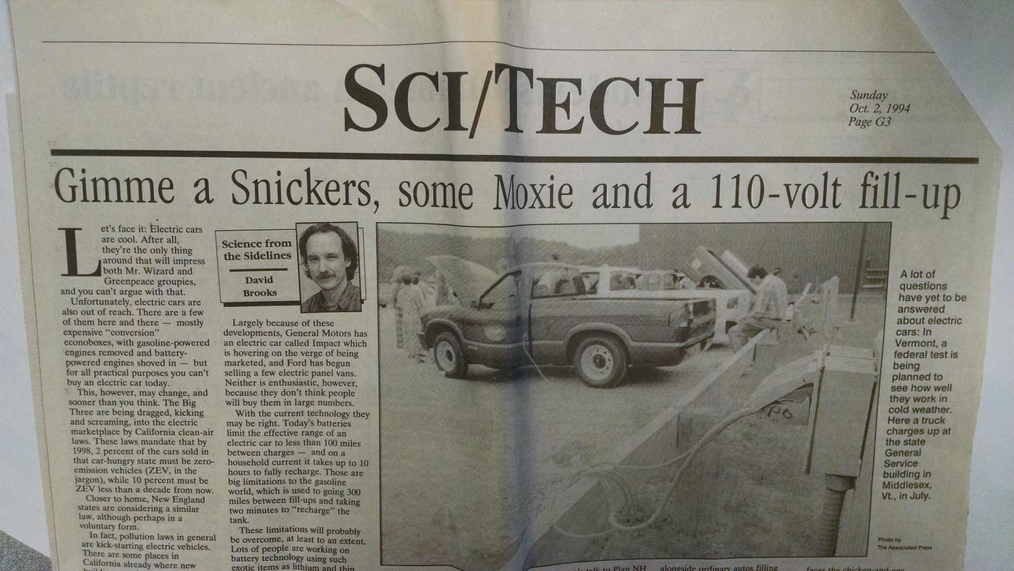 hight resolution of 1994 article about electric car study in new hampshire