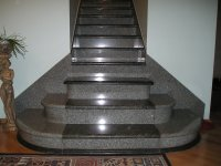 Granite Staircase | Elegant designs | Granite Stair Steps ...