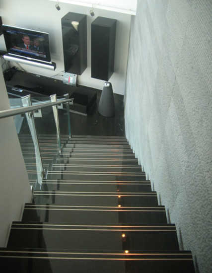 best granite colors for living room india orange curtains staircase elegant designs stair steps types of staircases