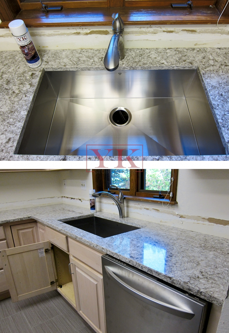 how to install backsplash in kitchen bars yk stone center installations – the 'process' » ...
