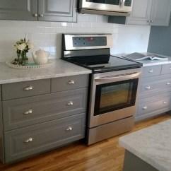 Beige Kitchen Cabinets Showrooms Nyc Mont Blanc - Granite Liquidators