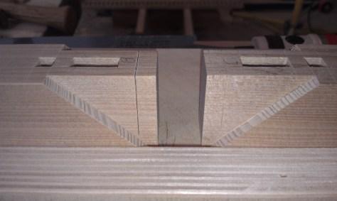 Cutting mortise box