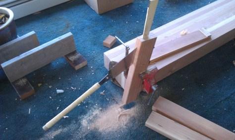 Resawing Redwood