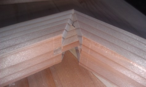 Mitered mortise and tenon