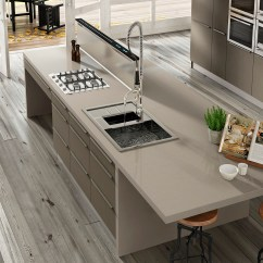 Discounted Kitchen Cabinets Grey Tile Silestone Countertops In Chicago