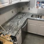 Viscon White Installation Gallery Granite Works Of Pa
