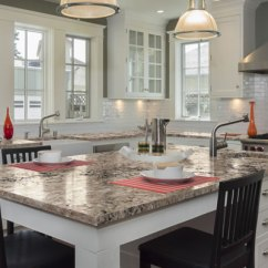 Kitchen Countertop Stone Options Colored Appliances Kimbler Mist - Granitex