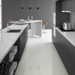 Professional Kitchen Faucets Epoxy Countertops Bianco Drift Caesarstone Quartz - C6131 Granit Plus