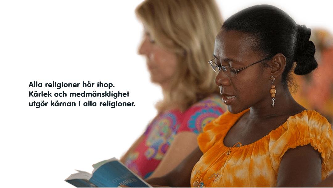 Kärlek och medmänsklighet mellan religionerna