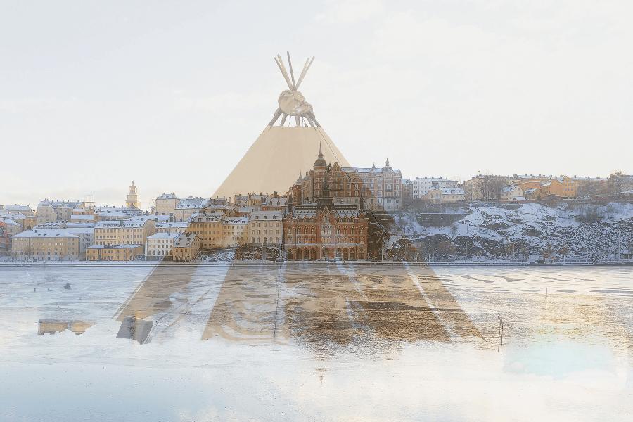 Vinter Sverige, Stockholm