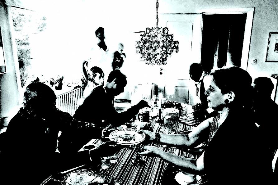 Grannskapsmöte i Sollentuna