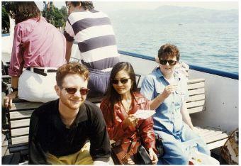 Maximina Brion in Zurich Switzerland 1996
