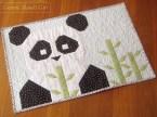 Panda quilt, pattern by Fat Quarter Shop