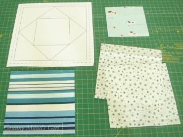 Paper pieced economy block how to