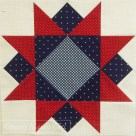 Morning star patchwork block