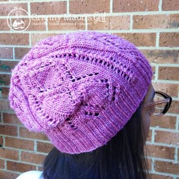 Schwimmen hat pattern by Shannon Cook