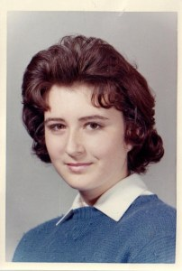 Nelda Grace around the age of 16.