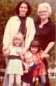 Nelda, Dee, Krista, Emily and Jennifer. This photo captures our personalities!