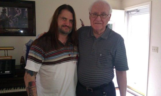 """Me and my Dad, John Louis LaPrarie...the most wonderful, honorable, Christ-like man I've ever known.""--John Howard LaPrarie"