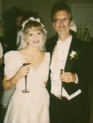 Krista Adams and Ronald Tew's wedding day!