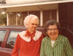 Great-grandma Wright and Aunt Daisy