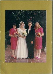 Krista's wedding--Jennifer, Krista, Brady, and Emily
