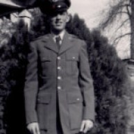 James Hester in uniform