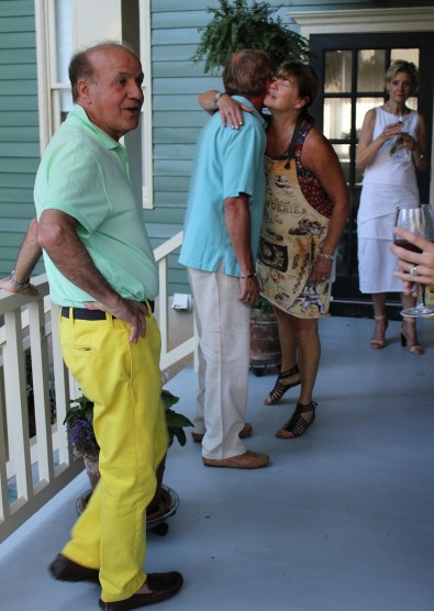 You can always count on our friend Bunky to be the best dressed at the party.