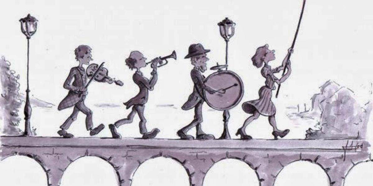 Tipos de cerebro en los músicos (Humor)