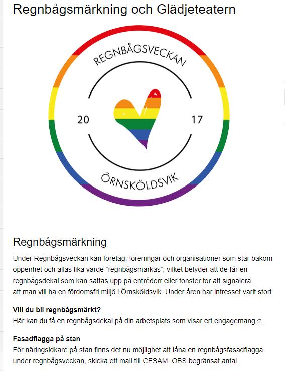 regnbågsmärkning