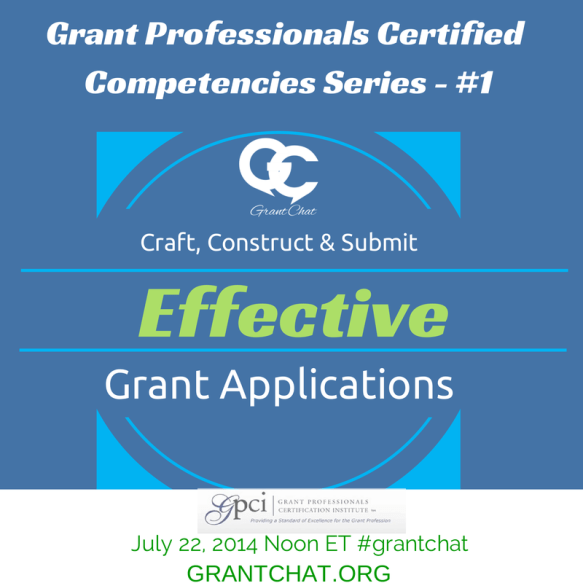 Effective Grant Applications - Grant Professional Certified