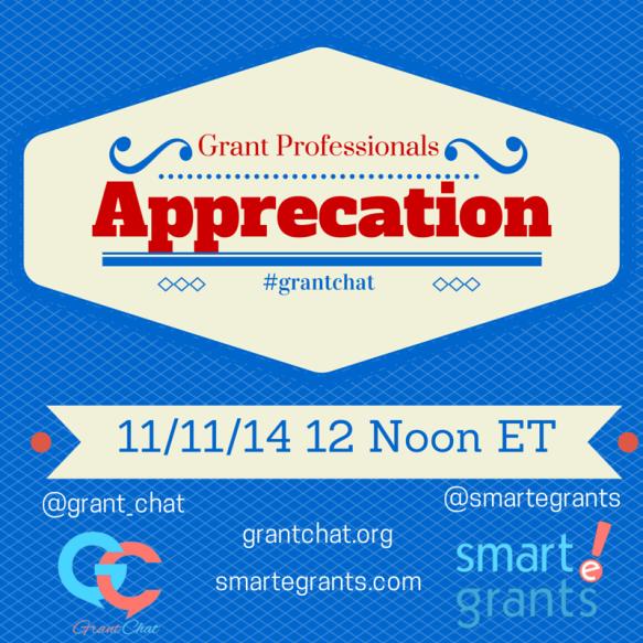 #Grantchat - Grant Professionals Appreciation