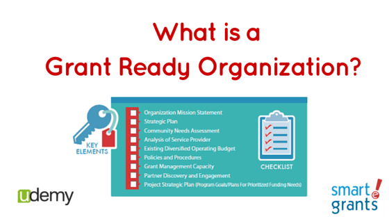 What is a Grant Ready Organization?
