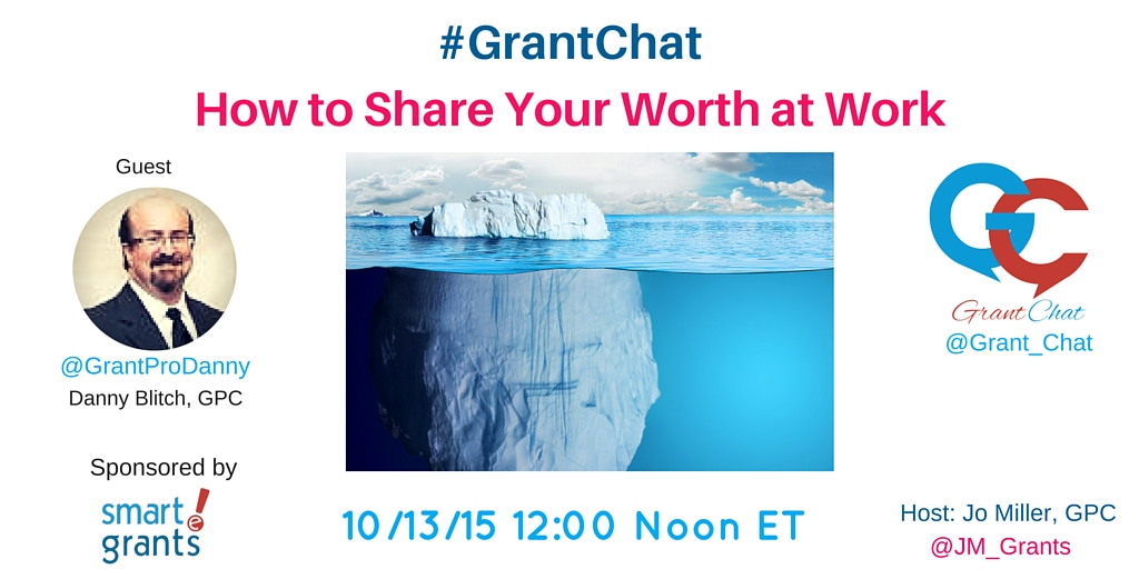 What is Your Worth At Work on GrantChat with Danny Blitch