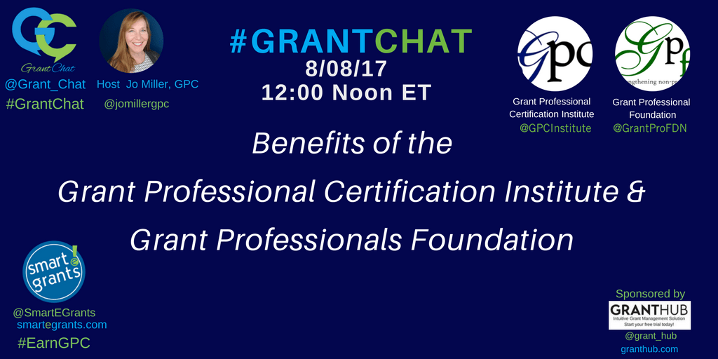 Grant Professionals Certification Institute and Grant Professionals Foundation Benefits for Grant Professionals