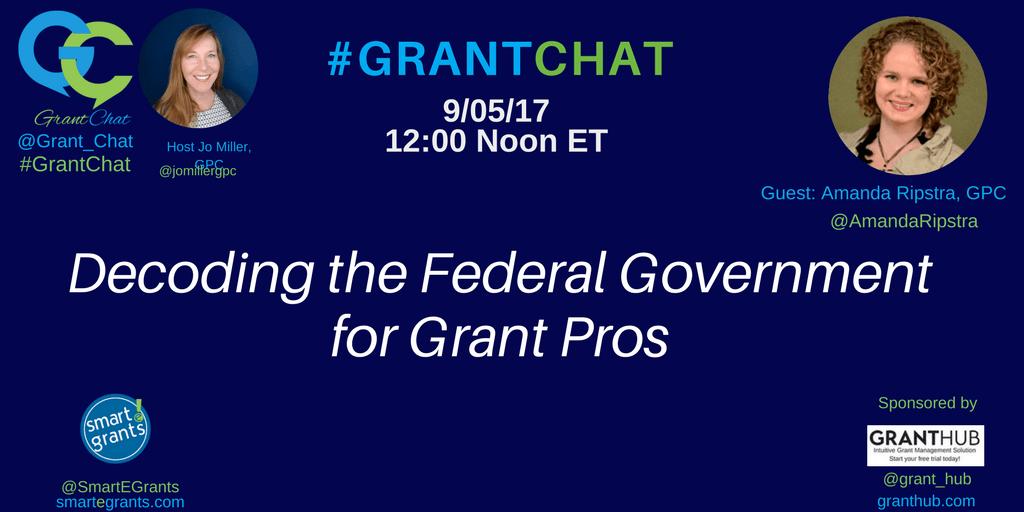 Amanda Ripstra, GPC, Decode Federal Grants