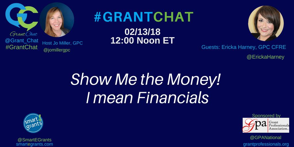#nonprofit financials - Show me the money! I mean financials!