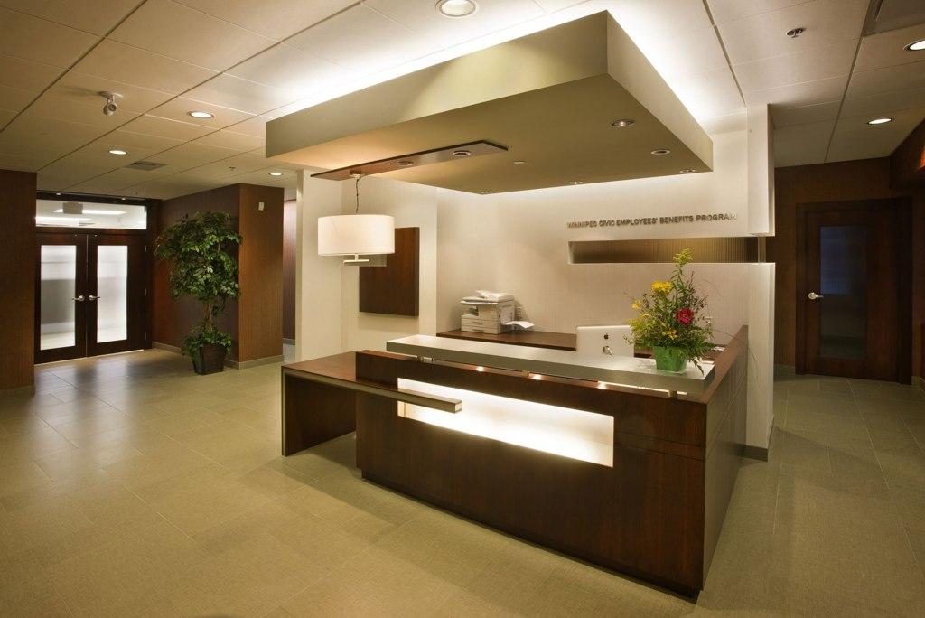 WCEBP Reception Desk