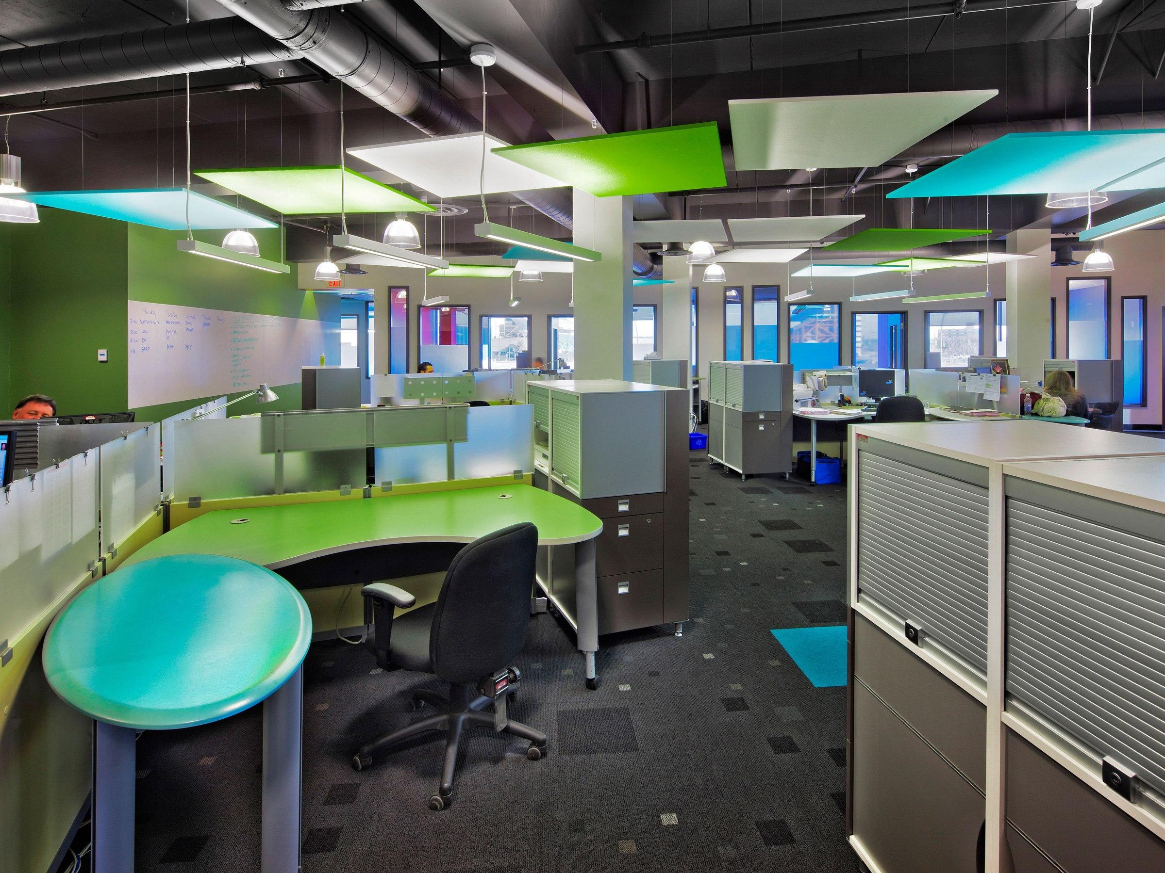 Corus Entertainment Open Area Workstations