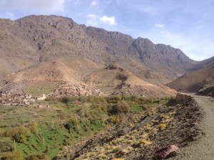 Tacchedirt village