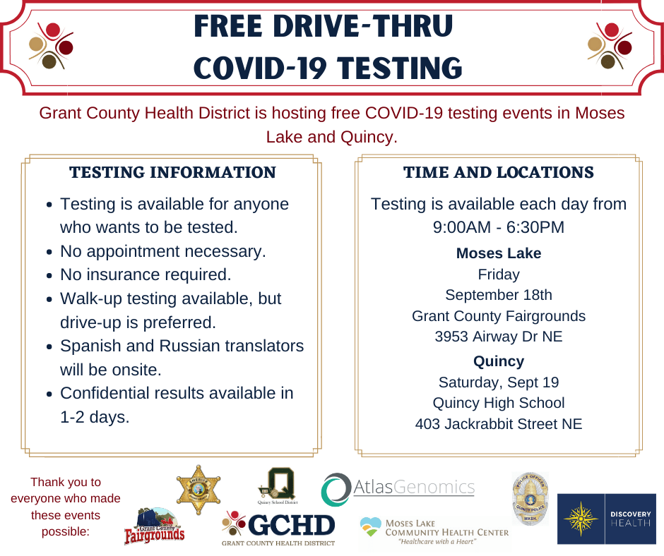 Updates For Covid 19 In Grant County Wa Granthealth Org