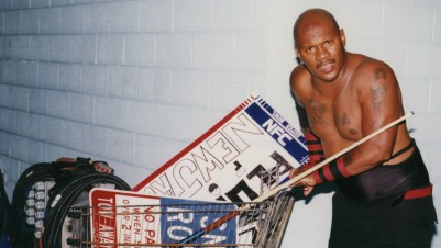 The Most Violent Man in Wrestling Lays Down His Staple Gun