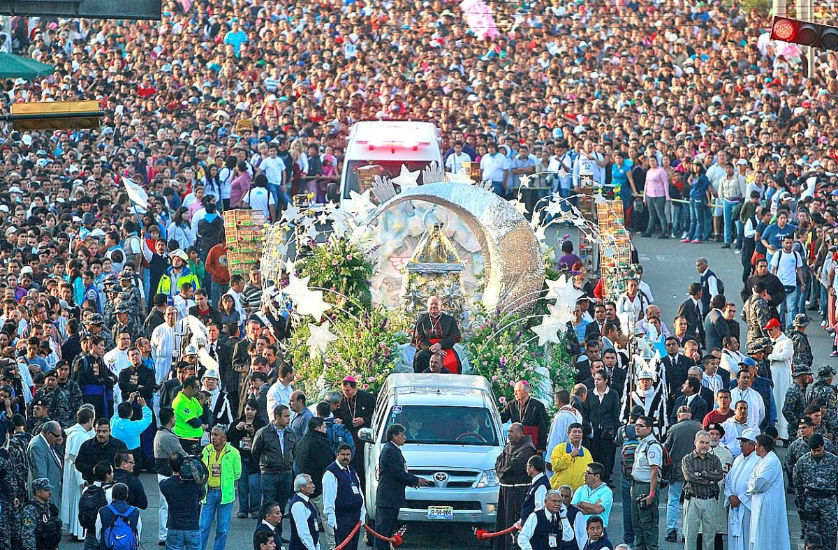 Romería de la Virgen de Zapopan.