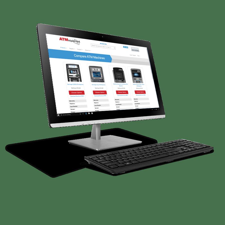 ATMequipment.com website feature