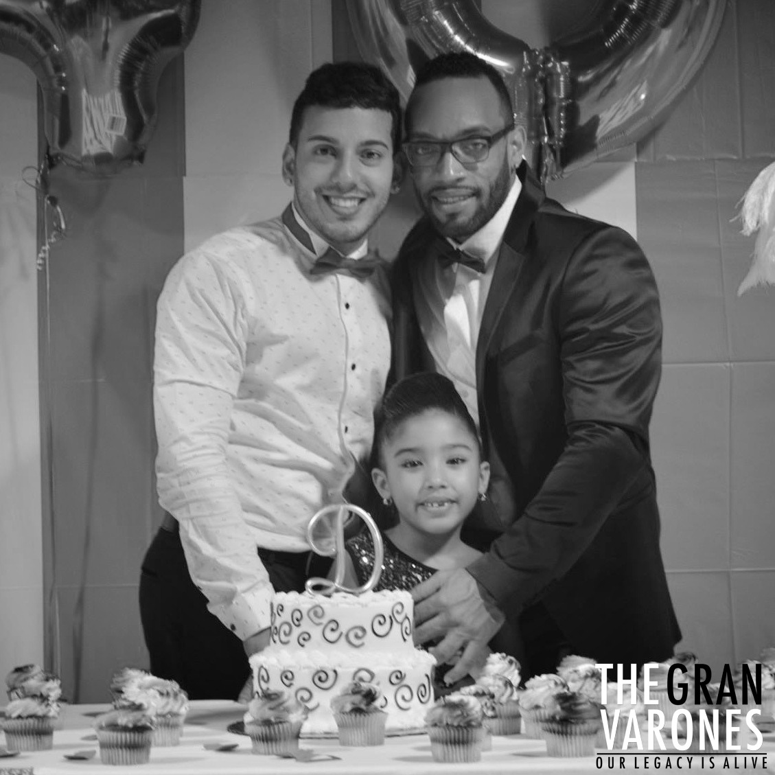 David and Carlos with their daughter Natalia