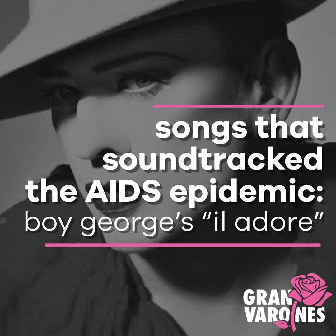 """boy george """"il adore"""""""
