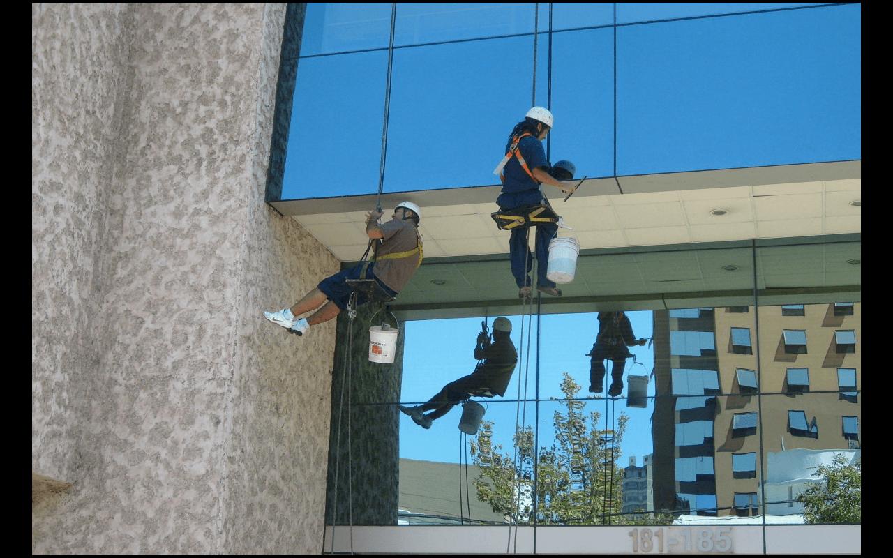 Trabajos verticales, trabajo vertical